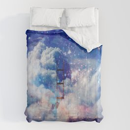 Jacob's Ladder in a Deep Dream Comforters