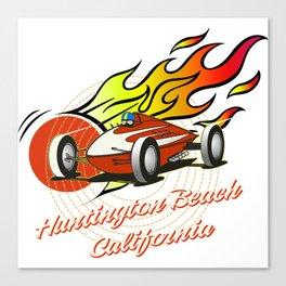 hot rod teeshirt Canvas Print