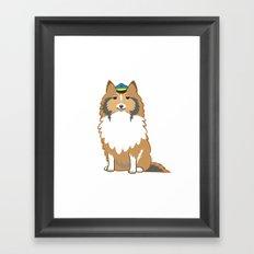 Animal Police - Collie Framed Art Print