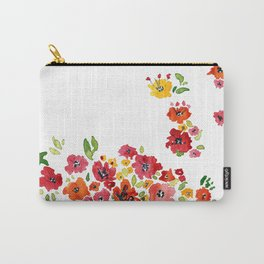 the daily creative project: romantic flowers Carry-All Pouch