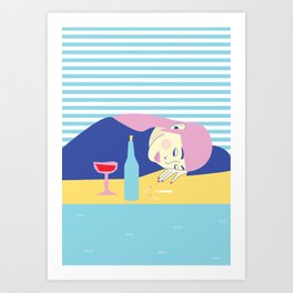 #currentmood Art Print