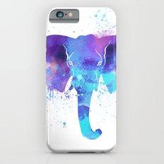 Watercolor Elephant Head Slim Case iPhone 6