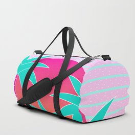 Hello Miami Sunset Duffle Bag