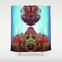 The Docking Shower Curtain