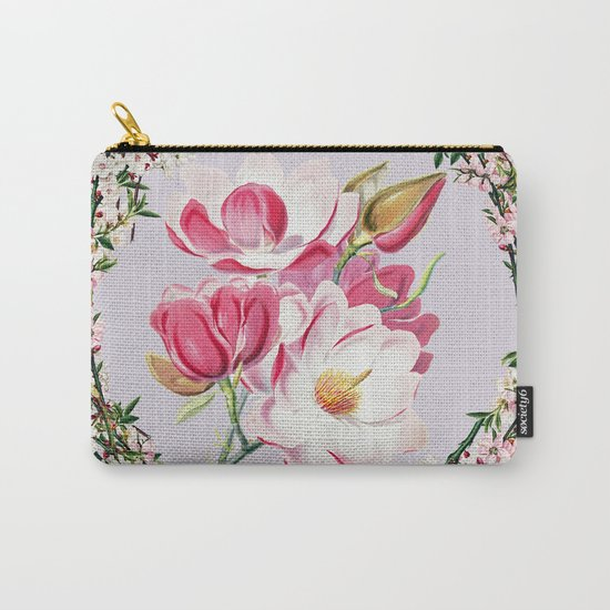 More flowering Carry-All Pouch