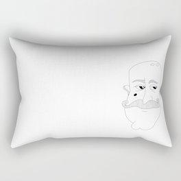 Moustache Rectangular Pillow