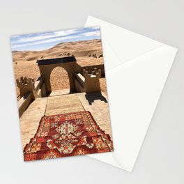 Magic Carpet, Sahara Desert, Morocco Stationery Cards