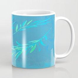 Eucalyptus leaves blue Coffee Mug