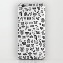 Animal Party iPhone Skin