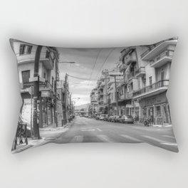 Back Streets of Athens Rectangular Pillow