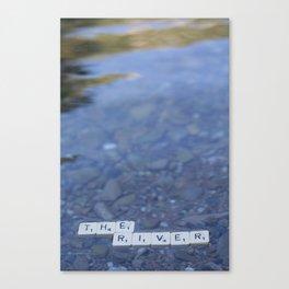 The river Part 2 Canvas Print