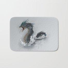 water dragon  Bath Mat