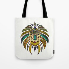 Emperor Tribal Lion Tote Bag