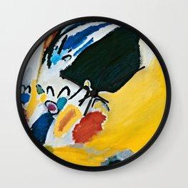 Wassily Kandinsky - Impression III  Concert Wall Clock