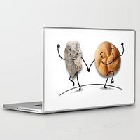 rock and roll Laptop & iPad Skins featuring Rock & Roll by Daniel Spreitzer