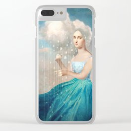 Melody of Rain Clear iPhone Case