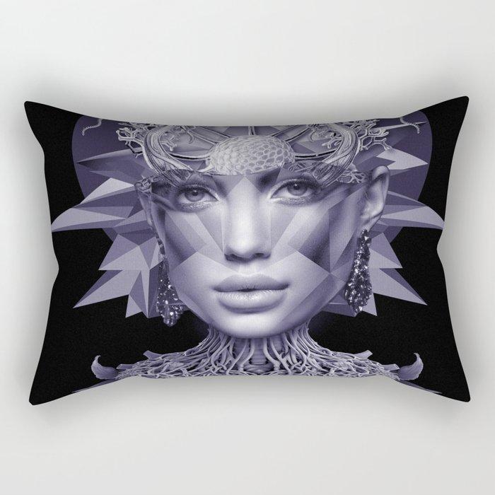Indigo Girl Rectangular Pillow