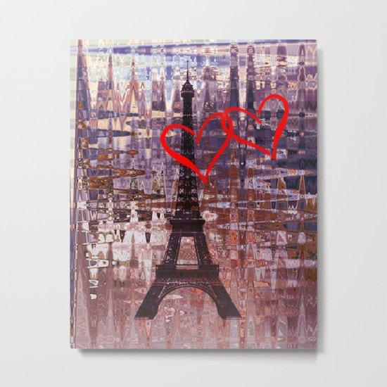 Evening in Paris Metal Print
