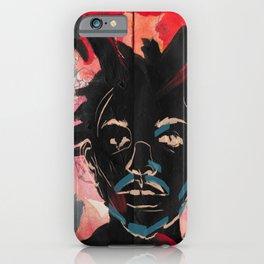 Portrait of Kendrick Lamar iPhone Case
