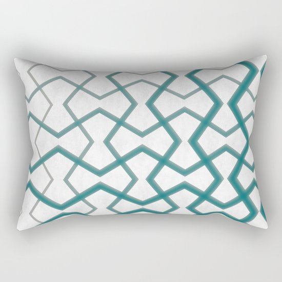 Biscay Bay Under Marble Tiles Rectangular Pillow