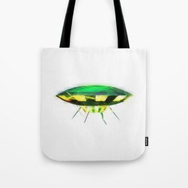 Retro UFO Tote Bag