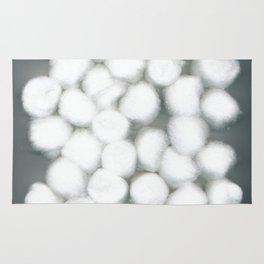 Cotton Balls Minimal Soft Fluffy Art Rug