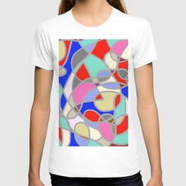Stain Glass Abstract Meditation Painting 1 T-shirt