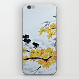Chicks Under The Tree iPhone Skin