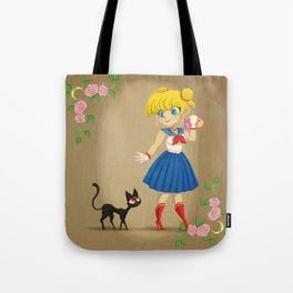 Retro Sailor Moon Tote Bag