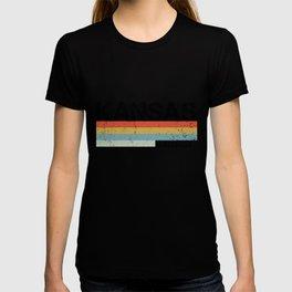 Kansas Design Gift & Souvenir For Kansas Print T-shirt