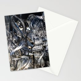 Wisps Glass Sculpture Stationery Cards
