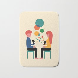 Soul Communication Bath Mat