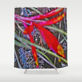 Bromeliad in the Cathedral Shower Curtain
