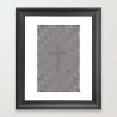 All the Answers in Plain Sight Framed Art Print