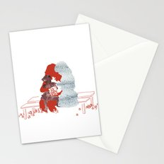 mother and daughters Stationery Cards