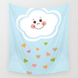Cute Cloud Wall Tapestry