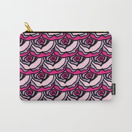 Rock Rose Pink Carry-All Pouch