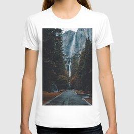 Upper and Lower Yosemite Falls T-shirt