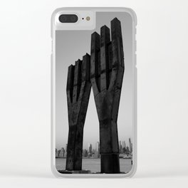 Remember the Towers Clear iPhone Case