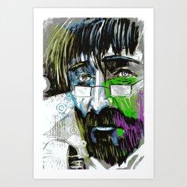 The Final Colour Art Print
