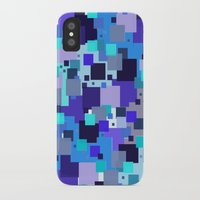 square iPhone & iPod Cases featuring square by sladja