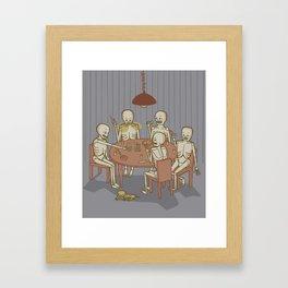 Jackstraw Framed Art Print
