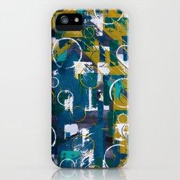 Champagne Supernova iPhone Case