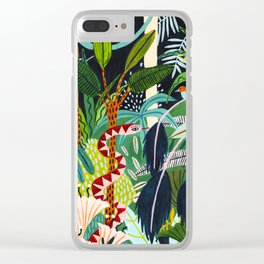 The Jungle at Midnight Clear iPhone Case
