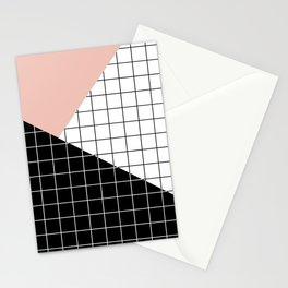 Minimal Geometry Stationery Cards