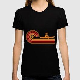 Retro Style Kayaker Vintage Kayaking T-shirt
