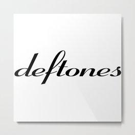 Deftone Metal Print