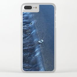 Spilling Water Clear iPhone Case