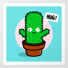 HUG! Art Print