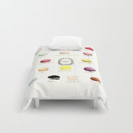 laduree macaron menu Comforters